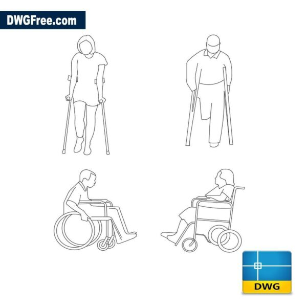 Disabled dwg cad