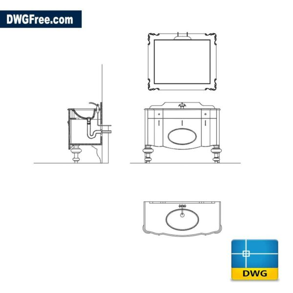 Italian furniture dwg cad
