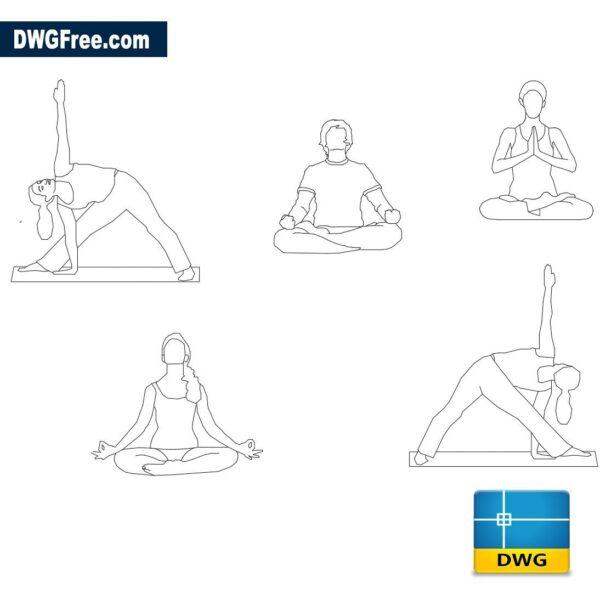 Yoga dwg cad