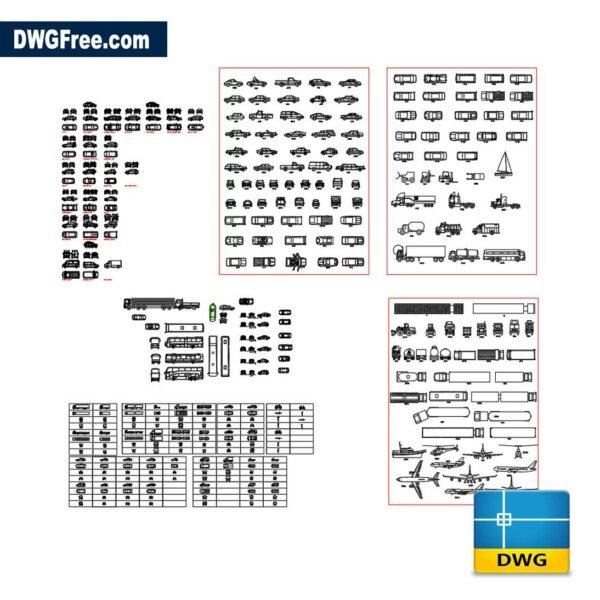 2d-automobiles-cad-dwg