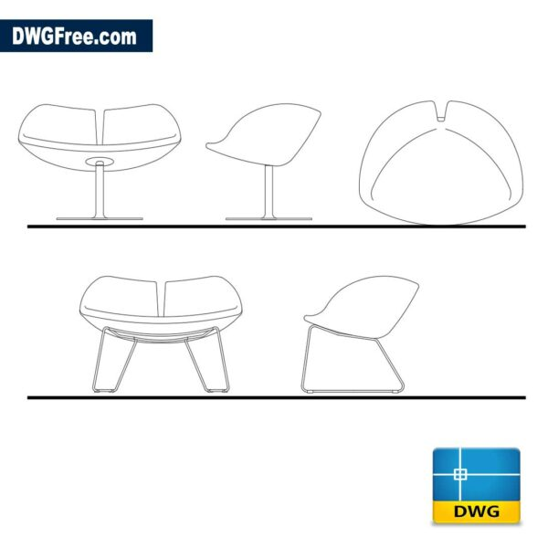 Armchair-Fjord-by-architect-dwg