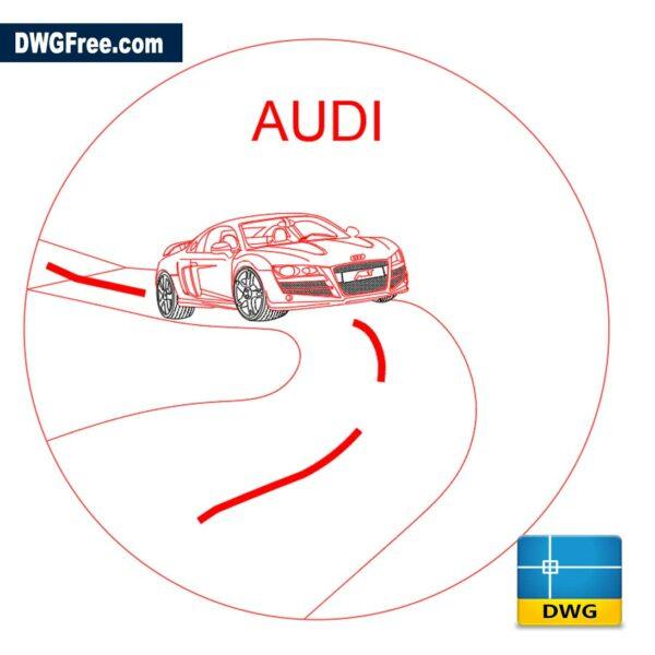 Audi-dwg-cad