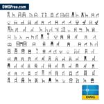 Chairs-and-armchairs-dwg