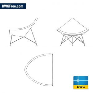 Coconut style chair dwg