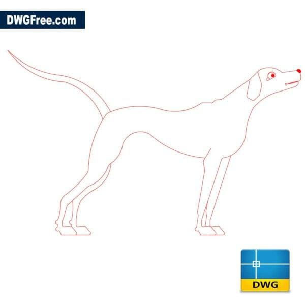 Dog-dwg-cad-autocad