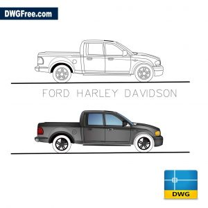 Ford Harley Davidson dwg