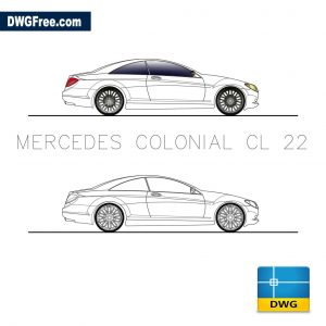Mercedes Colonial CL 22