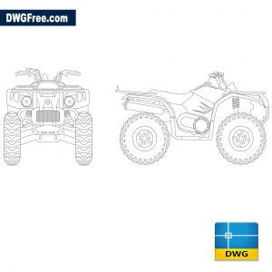 Motorcycle Atv 4-wheel