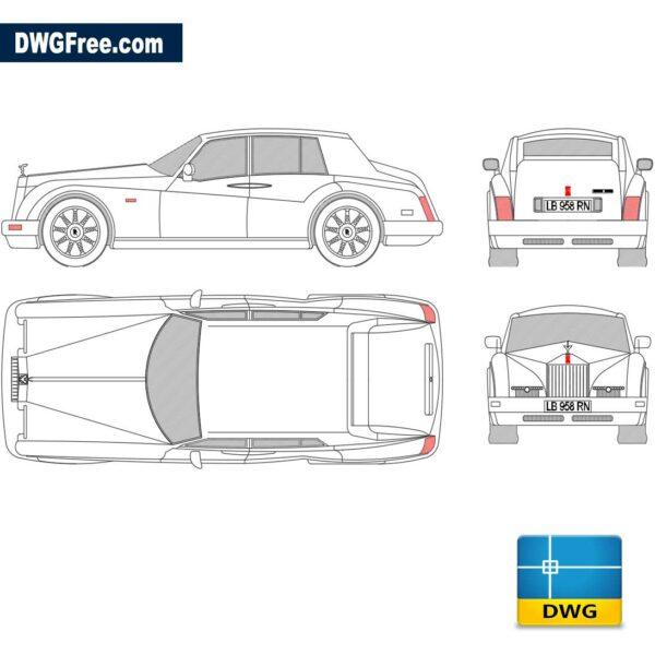 Rolls-Royce-Silver-dwg-cad-blocks-2d