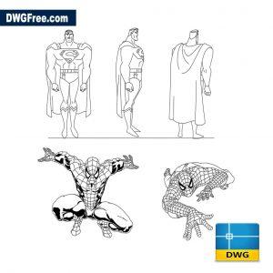 Superman dwg