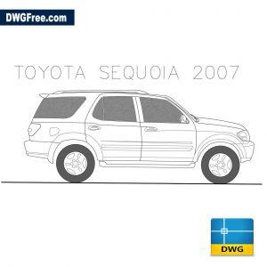 Toyota Sequoia 2007 dwg