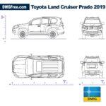 Toyota-land-Сruiser-2019-dwg-cad