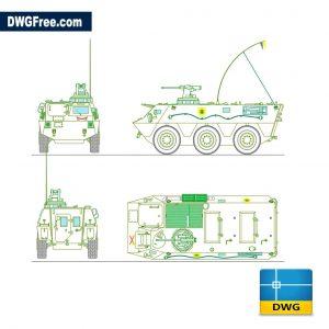 War tank pegaso