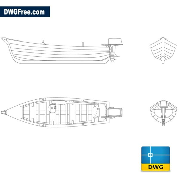 Wooden-boat-with-dwg-cad-blocks-2d