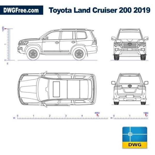 toyota-Land-Cruiser-200-2019-dwg-cad