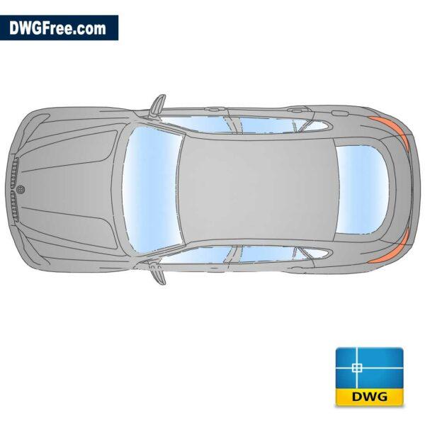 BMW-X6-Top-dwg-cad