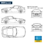 BMW-Z4-coupe-2006-dwg-cad