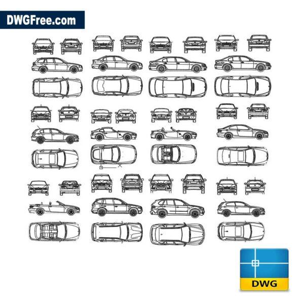 Bmw-Brand-Cars-dwg-cad