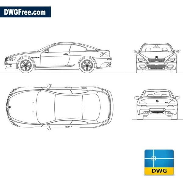 Bmw-M6-completo-dwg-cad