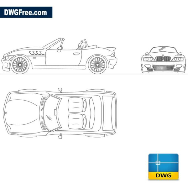 Bmw-Z3-dwg-cad