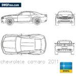 Chevrolete Camaro 2011 dwg