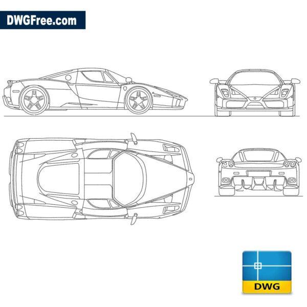 Ferrari-Enzo-dwg
