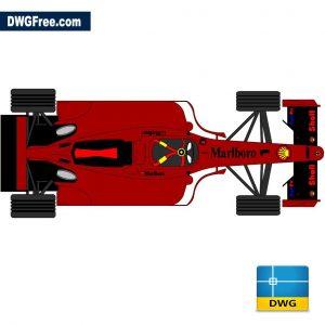 Ferrari F1 dwg