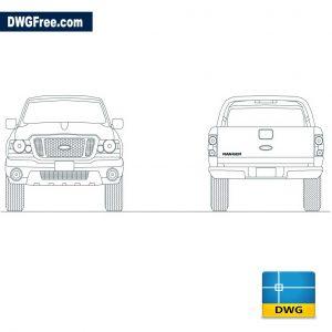 Ford Ranger dwg
