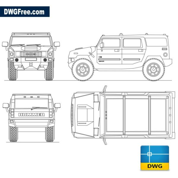 Hummer-H2-dwg