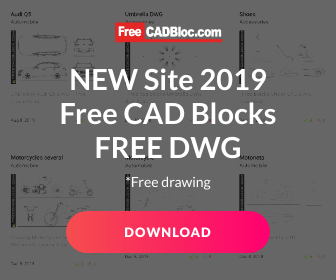 Cad blocks free in Autocad for dwg format download drawing