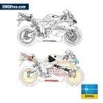 Honda-CBR-1000-RR-dwg-in-autovad-cad