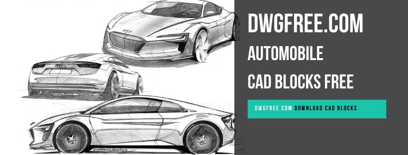 Drawing Automobile Cad blocks free in Autocad DWG