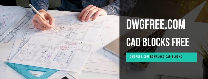 Cad blocks free Desenho em blocos Autocad DWGFEE.COM