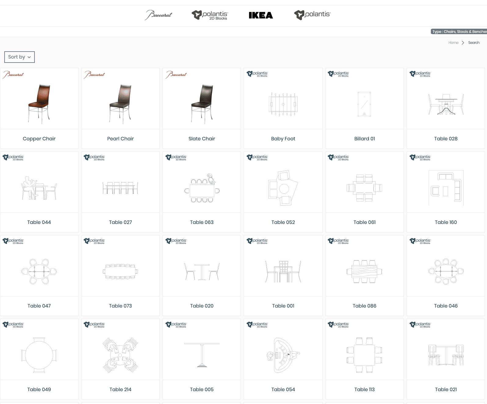 BIM objects 3D Download