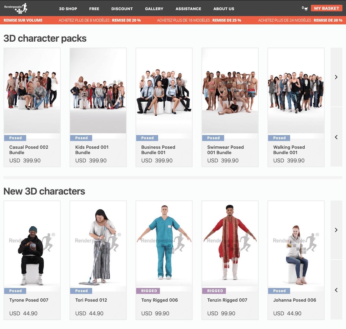 3D Models download