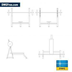 Banking weights Drawing DWG