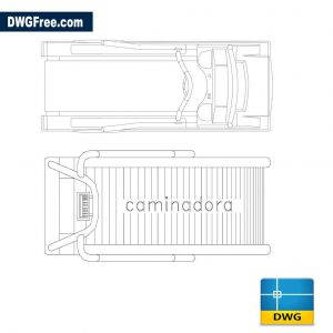 Treadmill CAD Drawing