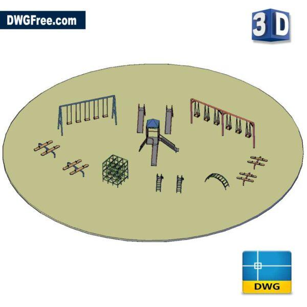 3D Children Playground