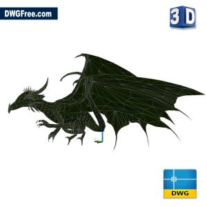 3D Dragon of Legend