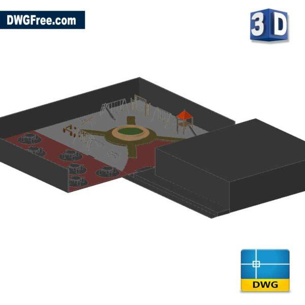 3D Recreational Area