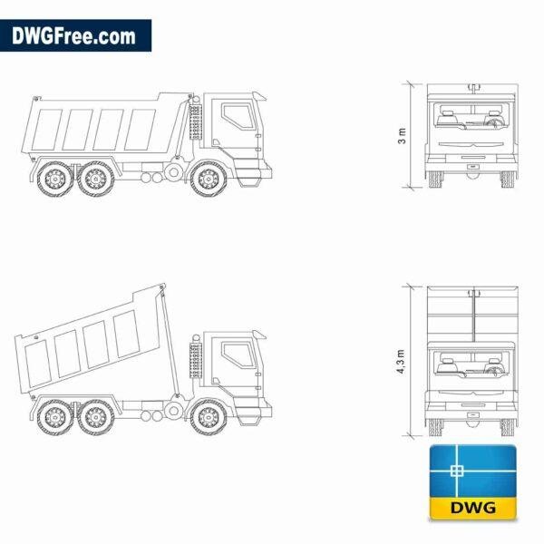 Dump Truck Scania Tipper