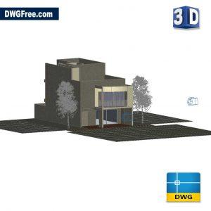 Housing Two Plants 3D