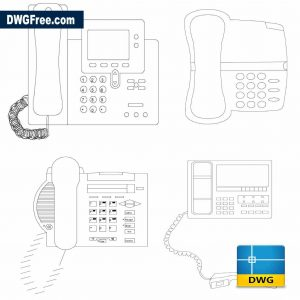 Drawing Phone design DWG