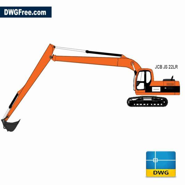 Excavator JCB JS22lR