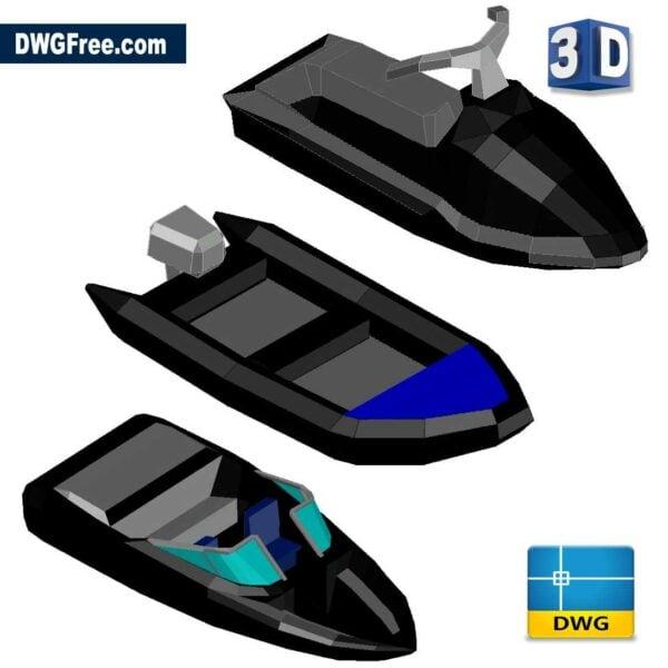 3D Boats CAD