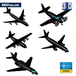 3D Planes CAD