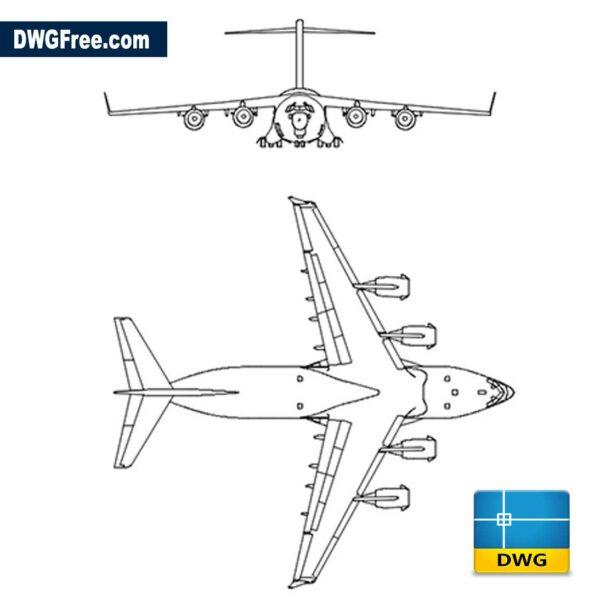 Boeing C17 Cargo Airplane