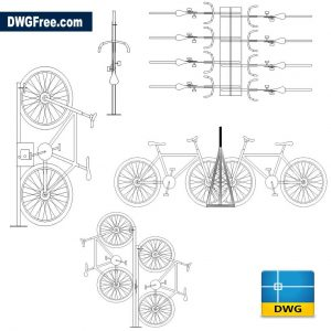 Full Urban Bicycle DWG in AutoCAD