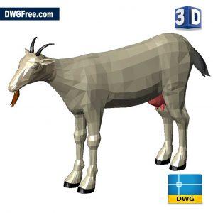 Goat AutoCAD 3D