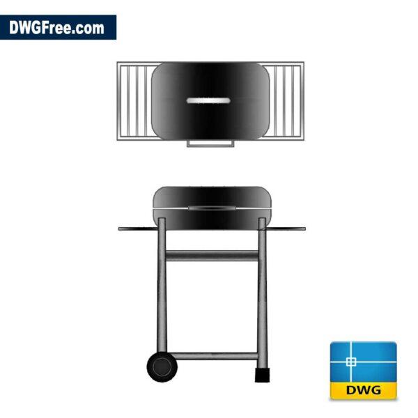 BBQ-Grill-2D-dwg-cad-blocks